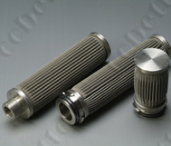 Pleated Stainless Steel Felt Filter