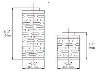 mini折叠滤芯设计图